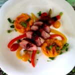 Piept de rață cu piure de morcovi